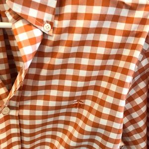 Brooks Brothers Orange Medium Button Down